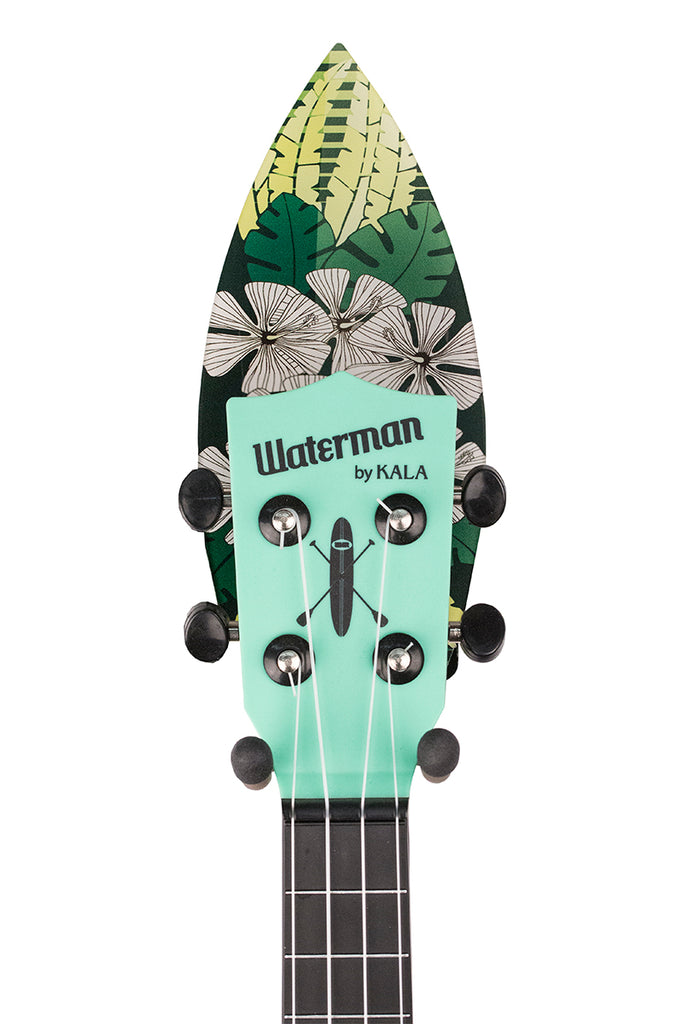 Green Surfboard Ukulele Wall Hanger