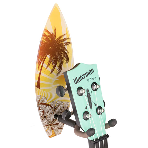 Yellow Surfboard Ukulele Wall Hanger
