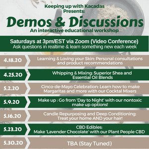 Keeping Up With Kacadas: Demos & Discussions