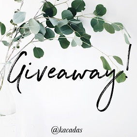 Instagram GIVEAWAY Time!