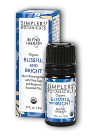 Blissful and Bright: Essential Oil Blend Therapy