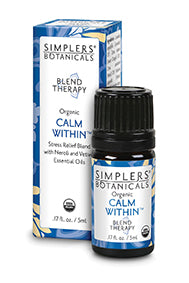 Essential Oil Blend Therapy- Calm Within