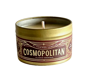 Cocktail Tin Candle - Cosmopolitan