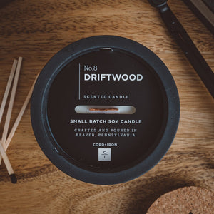 Driftwood - Cement Candle