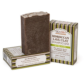 Moroccan Lava Clay Shampoo Bar