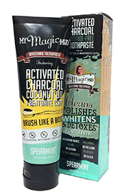 My Magic Mud Activated Charcoal Toothpaste:  Spearmint