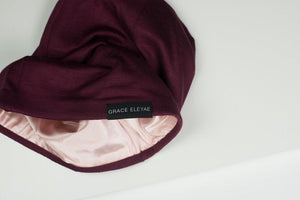 Satin-Lined Cap (SLap) - Wine