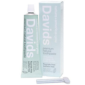 Davids Premium Natural Toothpaste - Peppermint