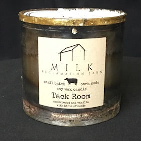 Barn Metal Candle- Tack Room