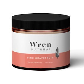 Natural Deodorant Cream - Pink Grapefruit