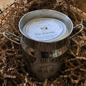 Milk Churn Candle- The Hearth