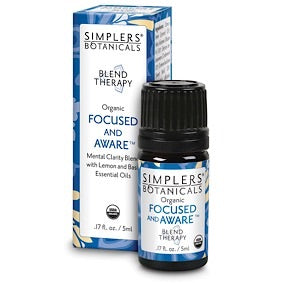 Focused and Aware Essential Oil Blend