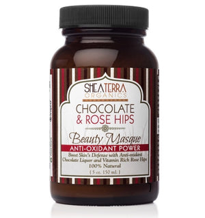 Chocolate & Rose Hips Beauty Mask (Anti-oxidant Power)