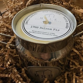 Milk Churn Candle- 1768 Balsam Fur
