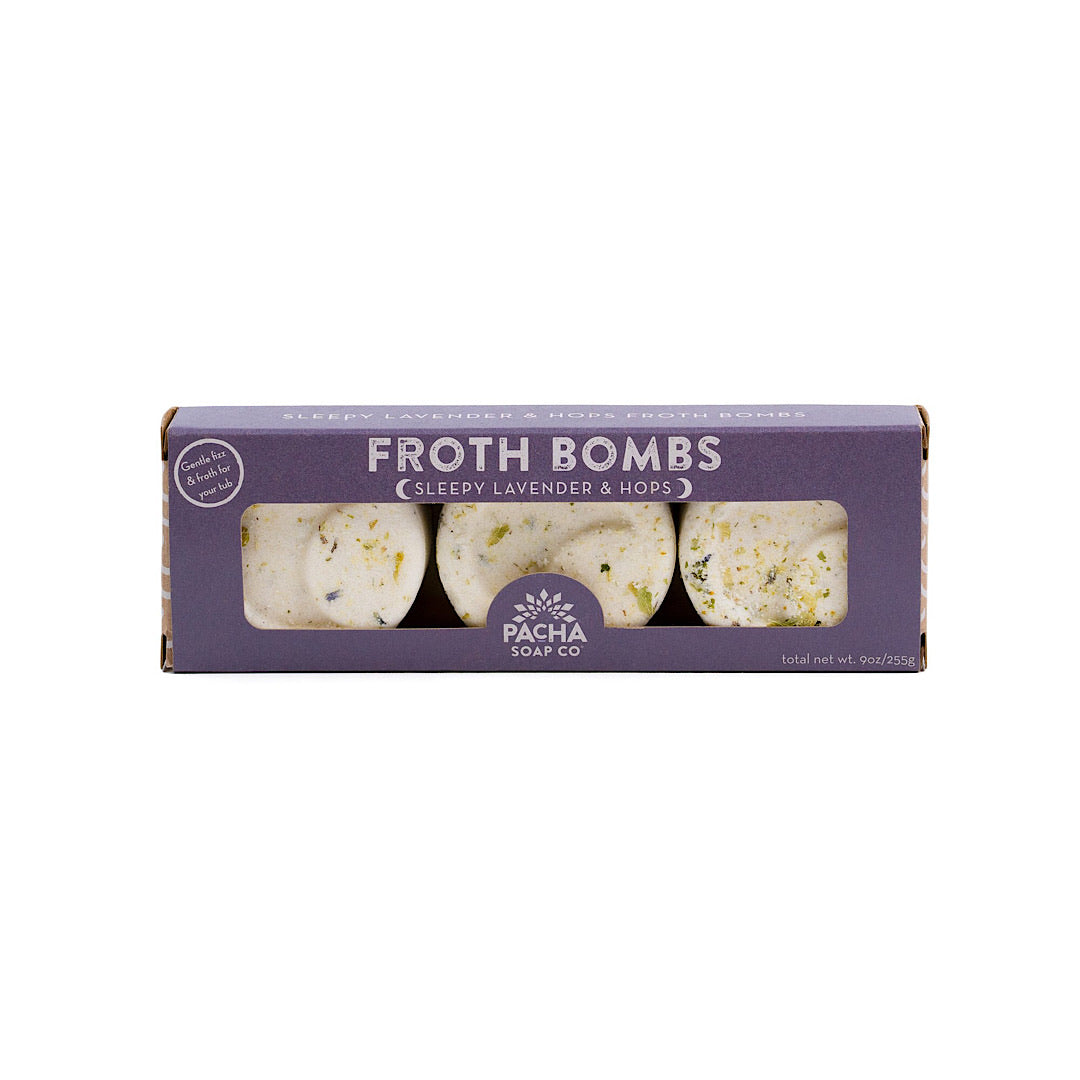Froth Bomb - Sleepy Lavender & Hops (3 pack)