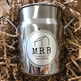 Milk Churn Candle- Barn Dance