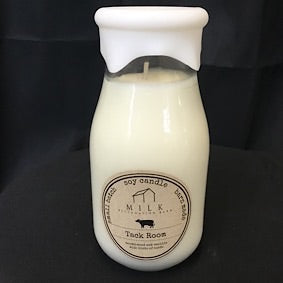 Milk Bottle Candle - Tack Room
