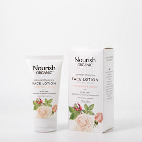 Nourish Organic - Lightweight Moisturizing Face Lotion