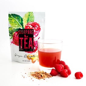 Ginger Raspberry Tea