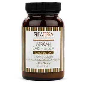 African Earth & Sea Detoxifying Mineral Face Mask