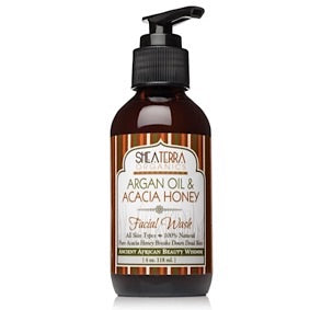 Argan Oil & Acacia Honey Facial Wash