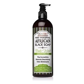 The Original African Black Soap Body Wash (Lemongrass)