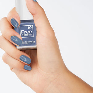 Nail Color - Moody Blue
