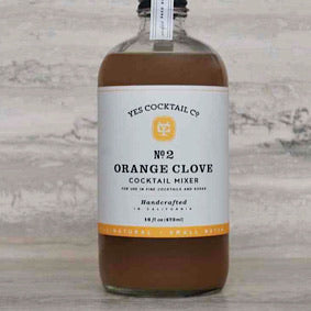 Orange Clove Cocktail Mixer