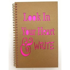 Hardcover - Look In Your Heart & Write
