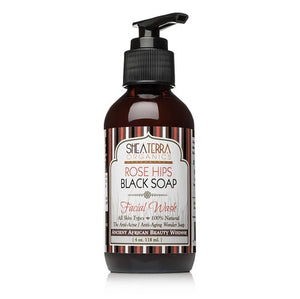 Rose Hips Black Soap Deep Pore Facial Wash