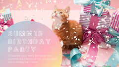 Summer Birthday Party Ideas for Your Pet