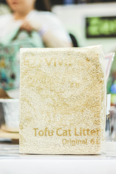 Tofu Cat Litter at CatCon 2019