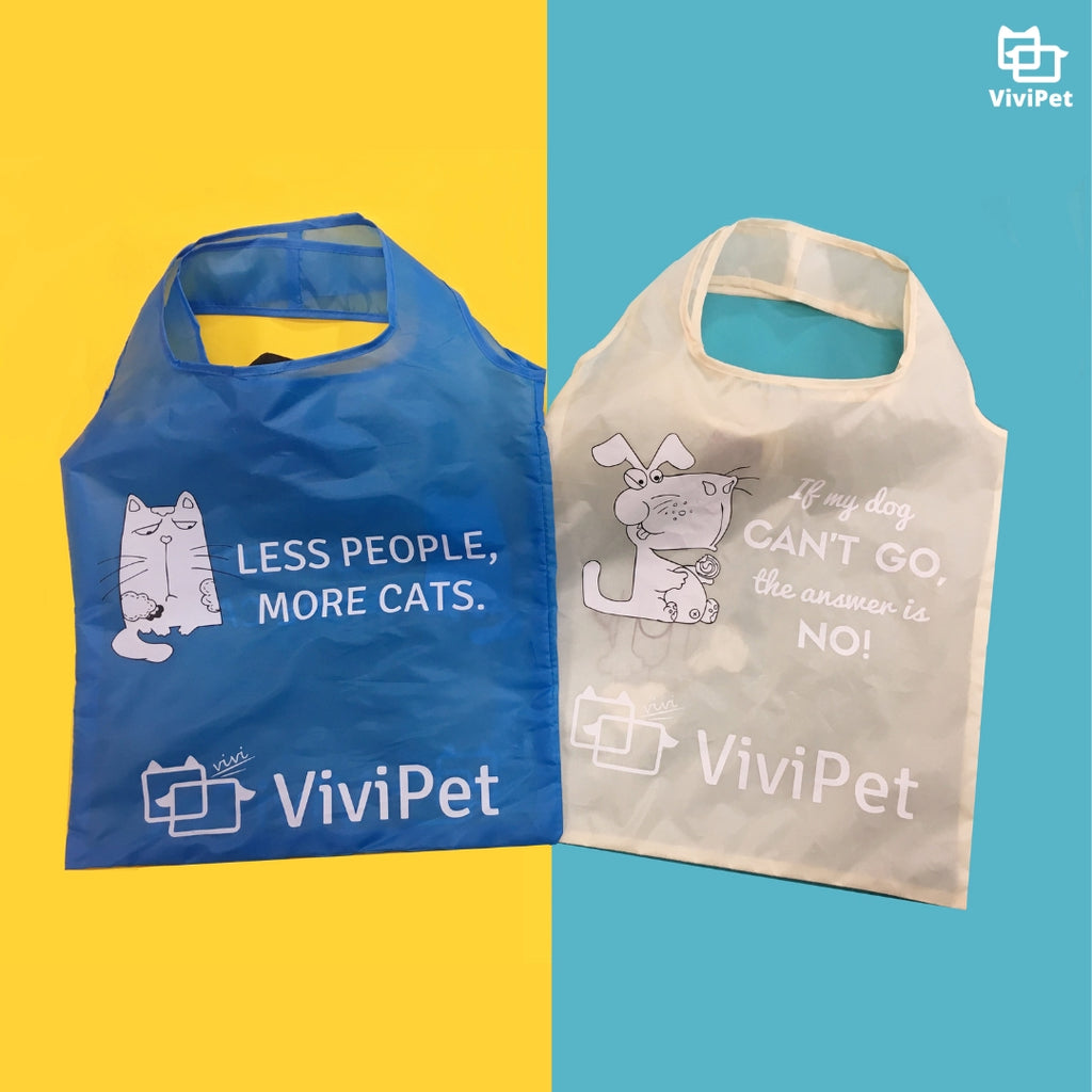 Cute Cat & Dog Reusable Bag | Cat-Themed Products | ViviPet