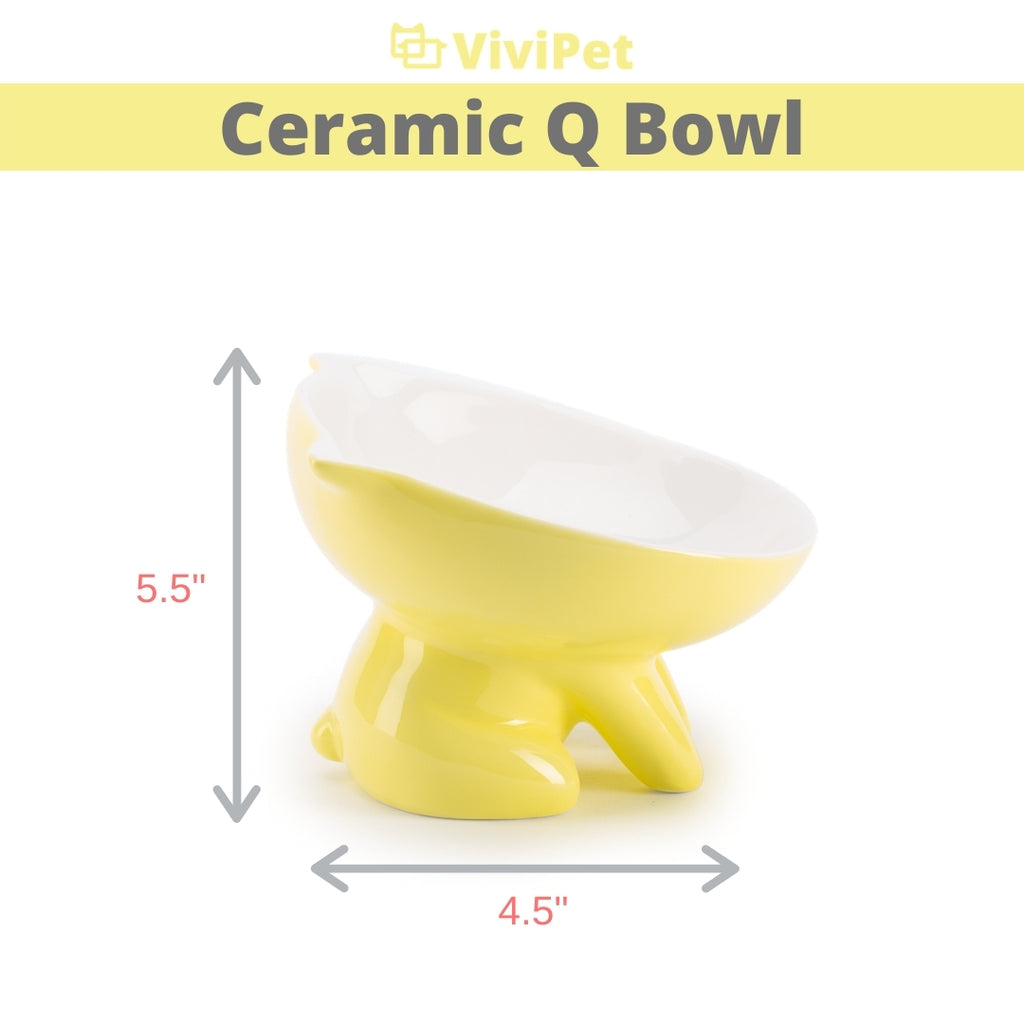 ViviPet Designed | Ceramic Q Bowl