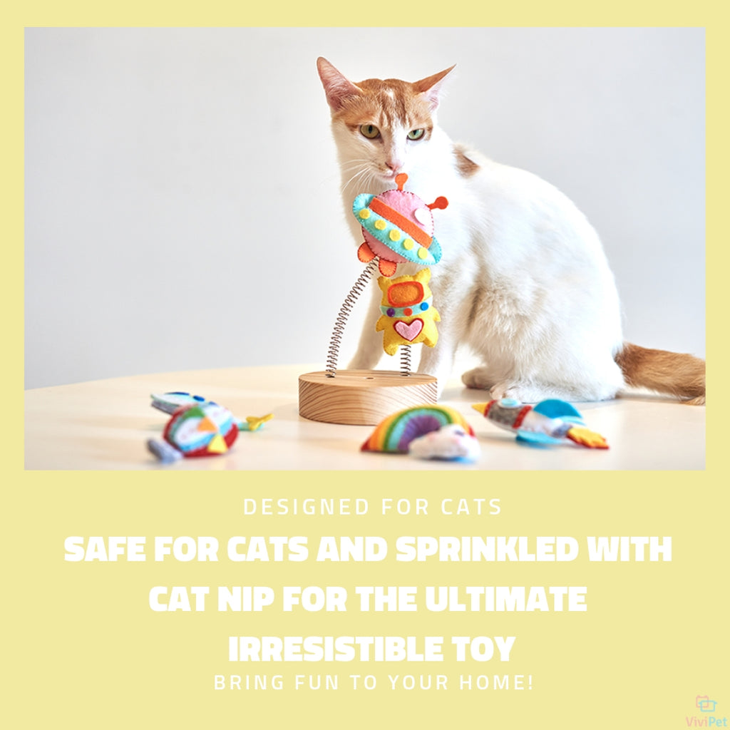 ViviPet Designed | Sky Cat Toys - Individually Packaged - VIVIPET