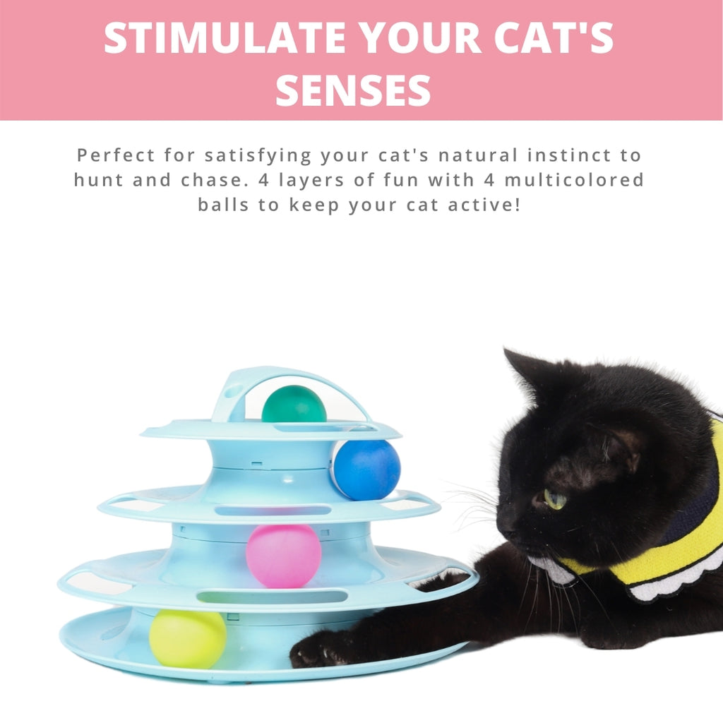 ViviCat Selected | Tower of Tracks Cat Toy