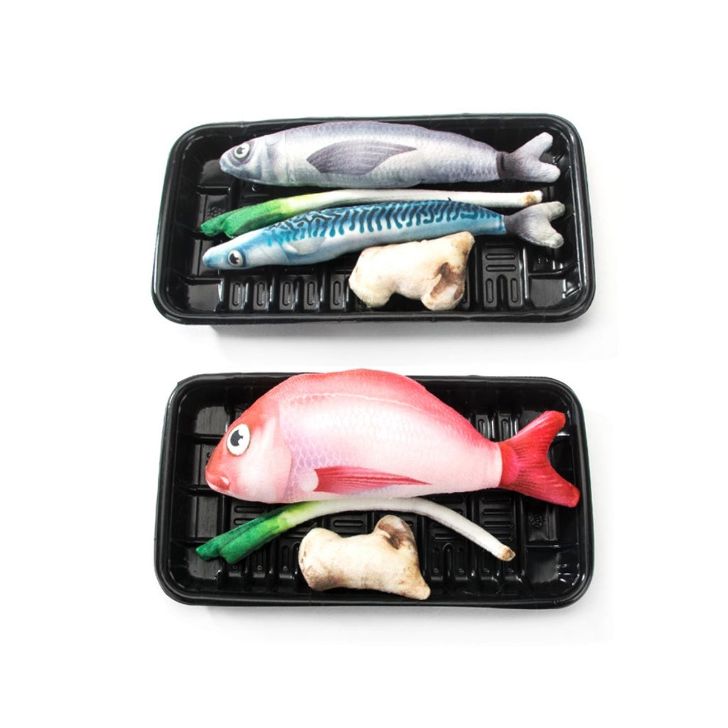 ViviCat Selected | Fishy Fish Catnip Toy Set