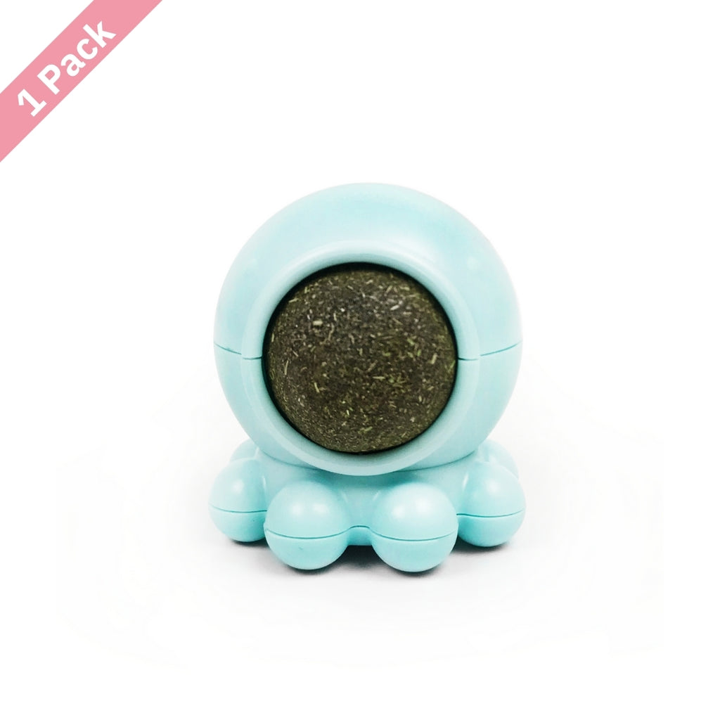ViviCat Selected | Spinning Octopus Catnip Snack Ball