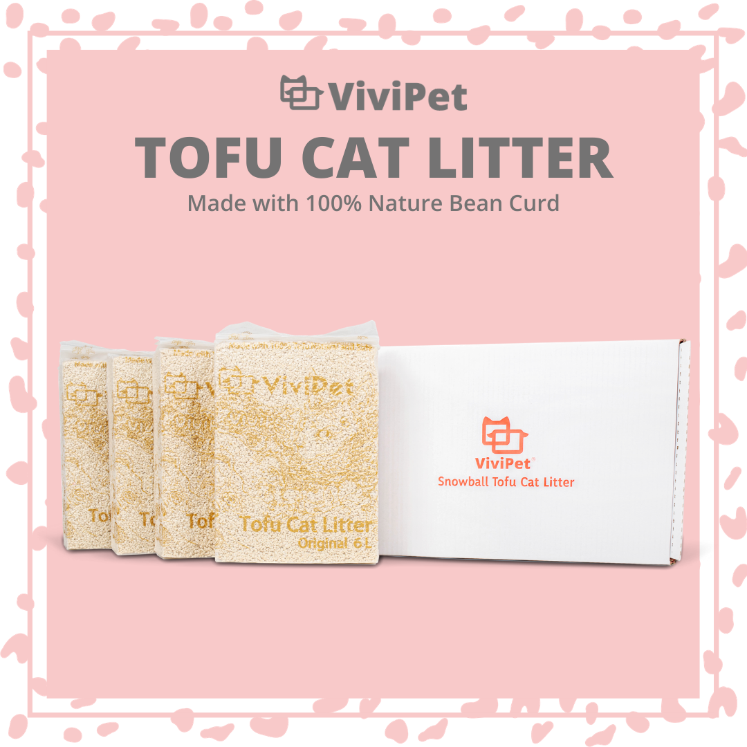 ViviPet | Snowball Tofu Cat Litter