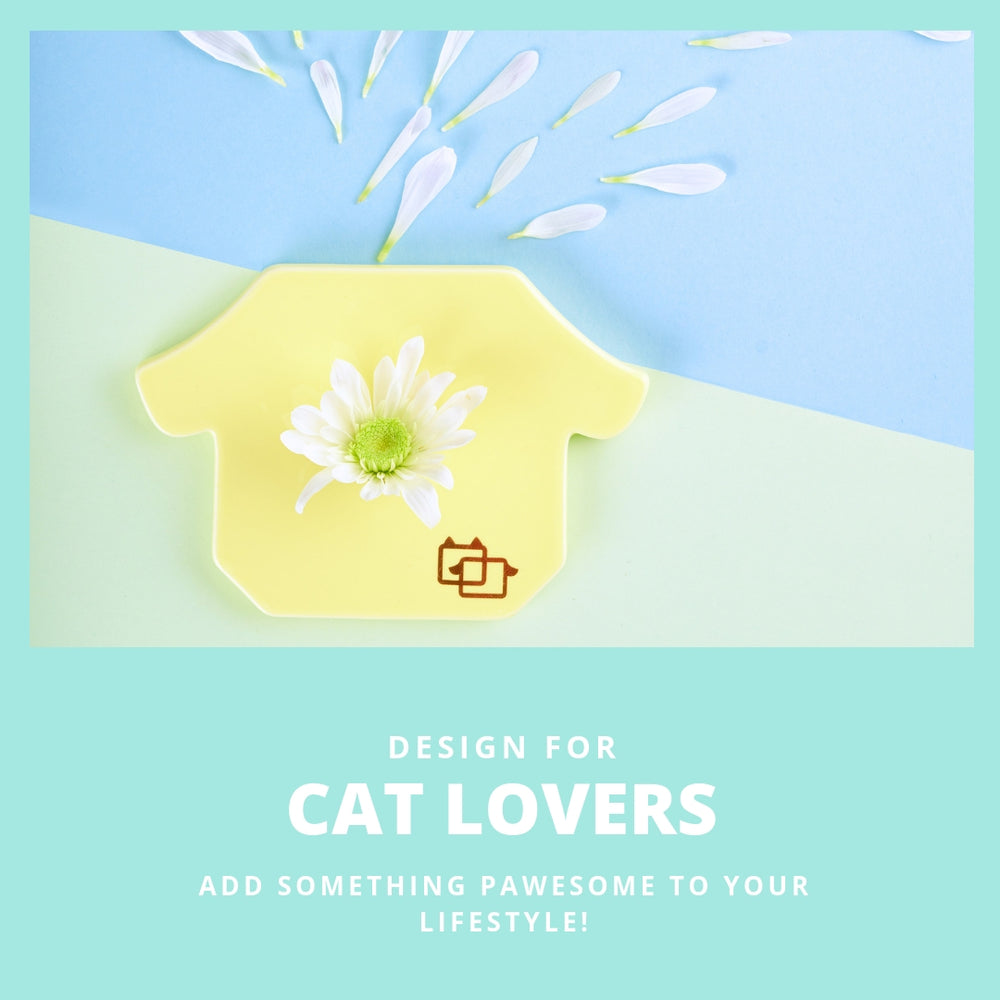 ViviPet Designed | Cutest Ceramic Cat Coasters - VIVIPET