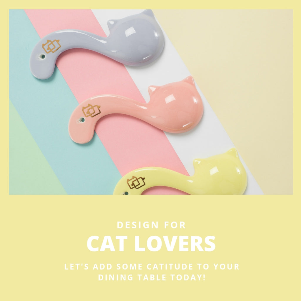 ViviPet Designed | Ceramic Kitty Spoon - VIVIPET