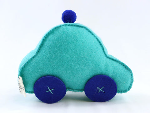 Electric Car Dog Toy