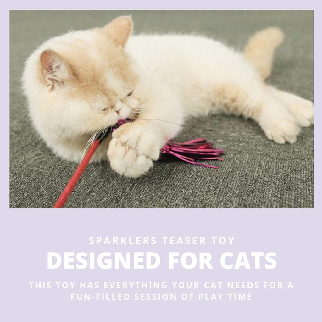 ViviPet Designed | Sparklers Cat Toy Set