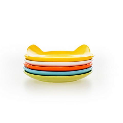 ViviPet丨Cat Head Shaped Plates - Set of 6