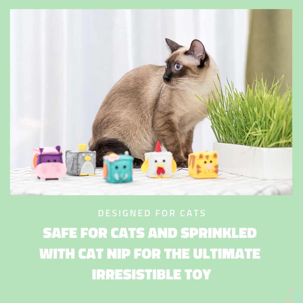 ViviPet Designed | Zoo Cat Toys - Individually Packaged - VIVIPET