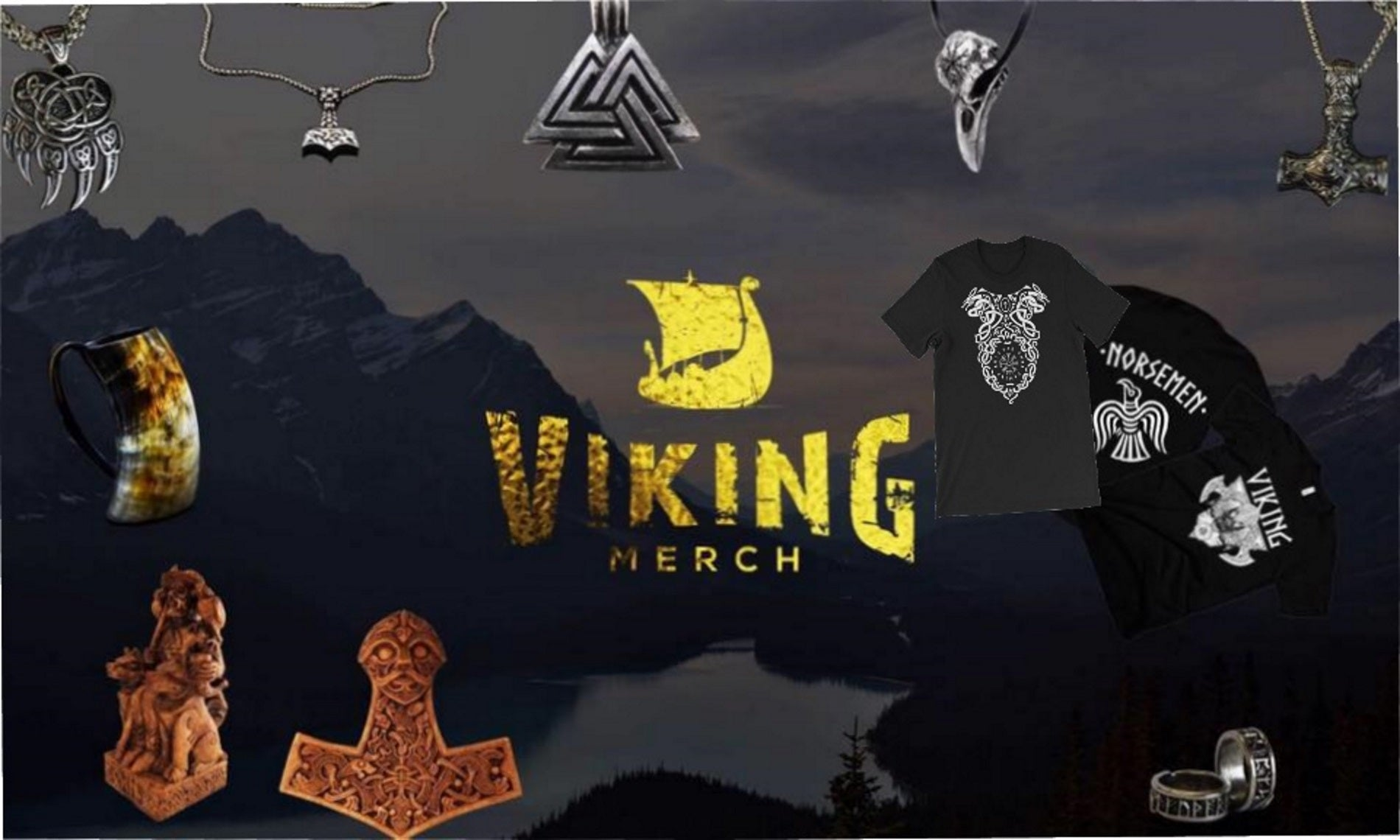 a2e300f5f Viking Merch - Shop Viking Jewelry, Drinking Horns, and Norse Jewelry