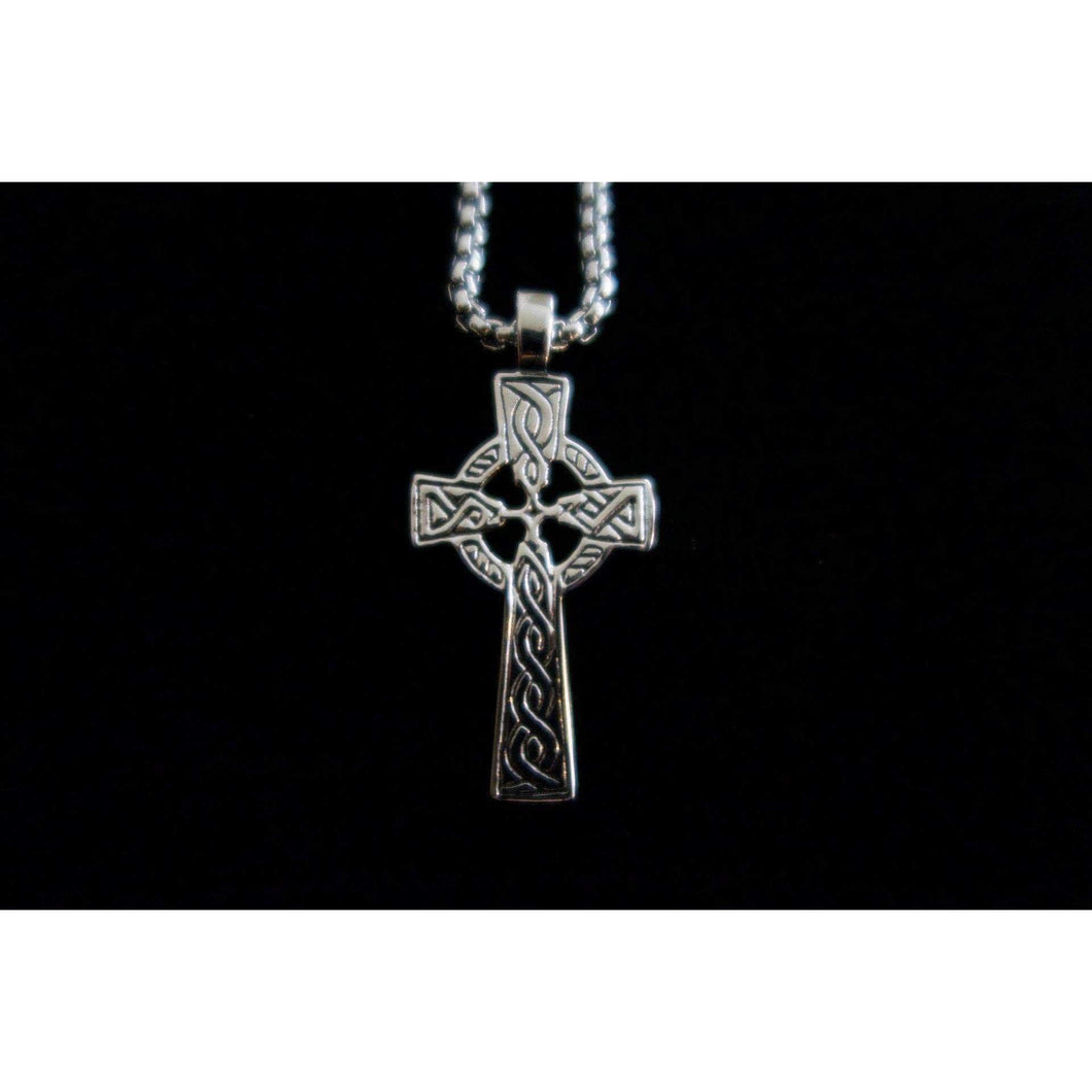 Celtic Cross Pendant (VN011)-Necklace-Viking Merch