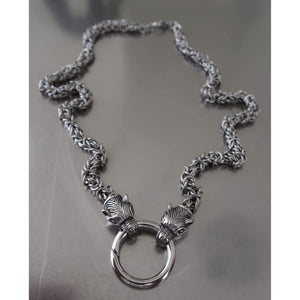 Kings Chain with Bear Heads-Necklace-Viking Merch