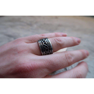 Massive Knot Ring (R034)-Ring-Viking Merch