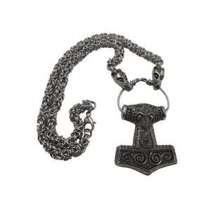 Skane Hammer Necklace (TH046)-Necklace-Viking Merch